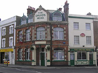 Picture 1. The Druids Head, Herne Bay, Kent