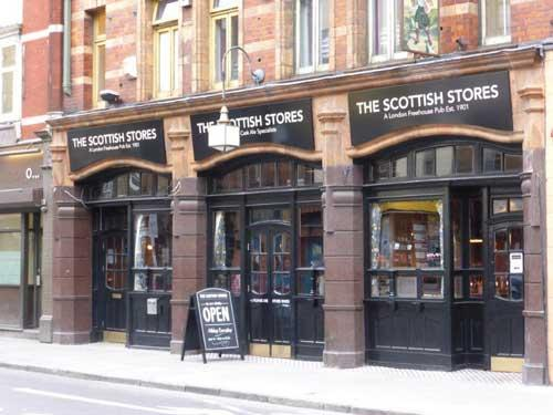 Picture 1. The Scottish Stores, Pentonville, Central London