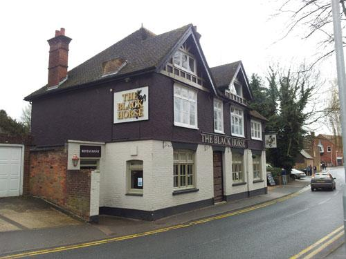 Picture 1. The Black Horse, Tring, Hertfordshire