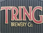 The pub sign. Tring Brewery Shop, Tring, Hertfordshire