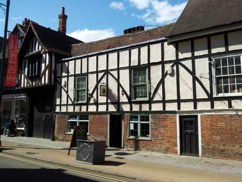 Picture 1. The Thomas Tallis Alehouse, Canterbury, Kent