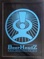 The pub sign. BeerHeadZ, Grantham, Lincolnshire