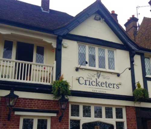 Picture 1. The Cricketers, Kew, Greater London