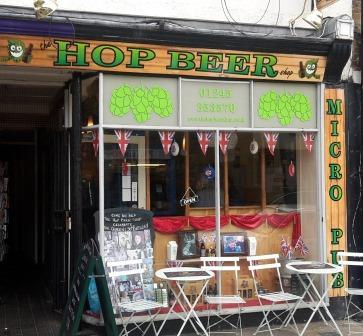 Picture 1. The Hop Beer Shop, Chelmsford, Essex