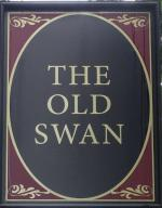 The pub sign. The Old Swan, Notting Hill, Central London