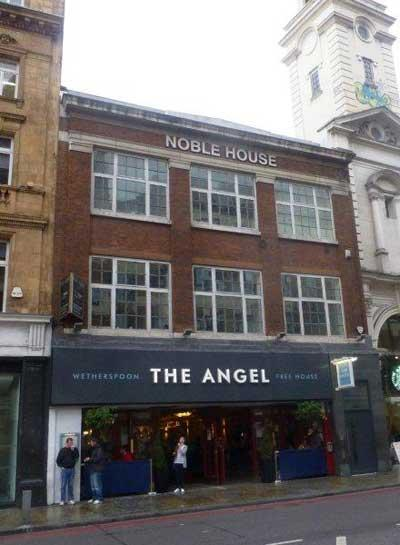 Picture 1. The Angel, Islington, Central London