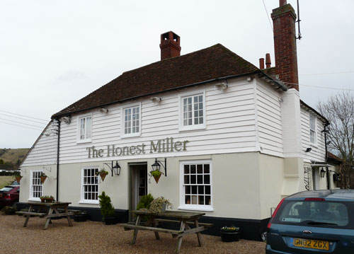 Picture 1. The Honest Miller, Brook, Kent