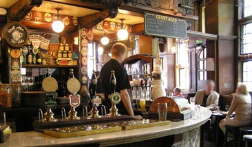 Picture 2. The Black Friar, Blackfriars, Central London
