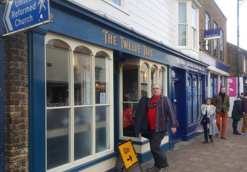 Picture 1. The Twelve Taps, Whitstable, Kent