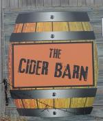 The pub sign. Early Doors Cider & Ale Barn, Draycott, Somerset