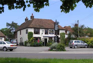 Picture 1. The Chequers, Challock, Kent