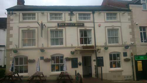 Picture 1. The Bailey Head, Oswestry, Shropshire