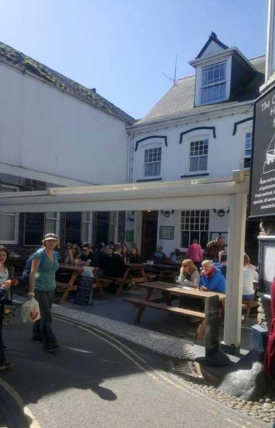 Picture 1. The Old Ship Hotel, Padstow, Cornwall