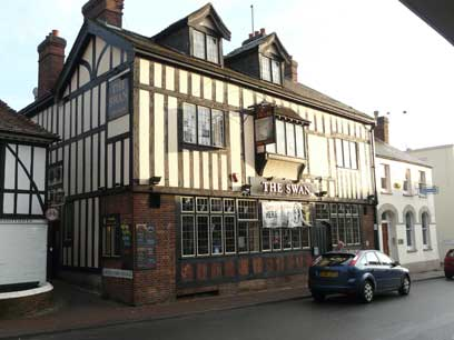 Picture 1. The Swan, Ashford, Kent