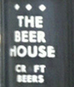 The pub sign. The Beer House Paddington, Paddington, Central London