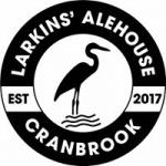 The pub sign. Larkins' Alehouse, Cranbrook, Kent