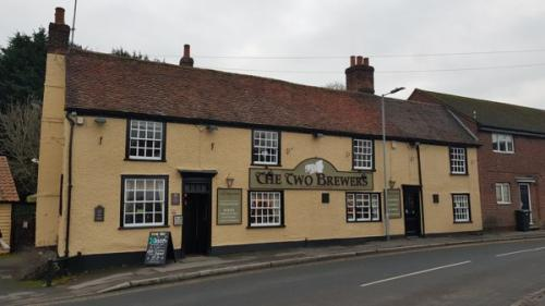 Picture 1. The Two Brewers, Ongar (or Chipping Ongar), Essex