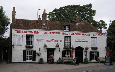 Picture 1. The Crown Inn, Sarre, Kent