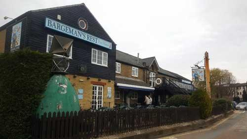 Picture 1. Bargeman's Rest, Newport, Isle of Wight