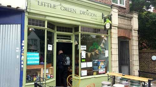Picture 1. Little Green Dragon, Winchmore Hill, Greater London