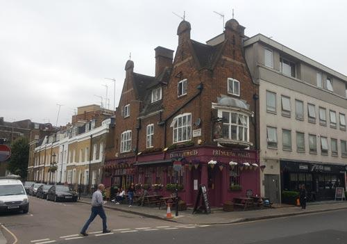 Picture 1. Prince of Wales, Pimlico, Central London