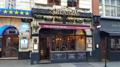 Picture 1. The Queens Head, Soho, Central London