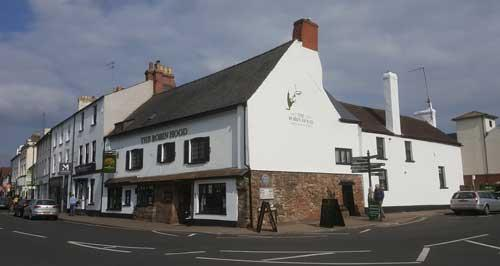 Picture 1. The Robin Hood, Monmouth, Gwent