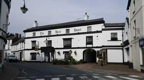 Picture 1. The Bear Hotel, Crickhowell, Powys