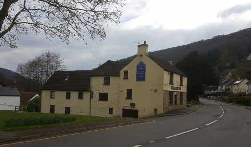 Picture 1. The Sloop Inn, Llandogo, Gwent