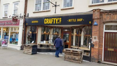 Picture 1. Crafty's Beer Shop, Letchworth Garden City, Hertfordshire