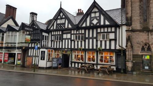 Picture 1. The Roebuck, Leek, Staffordshire