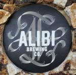The pub sign. Alibi Brewing Co, Auckland , New Zealand