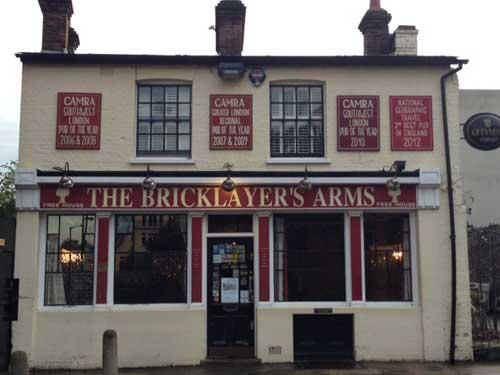 Picture 1. The Bricklayer's Arms, Putney, Greater London