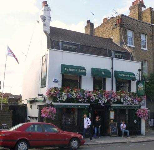 Picture 1. The Plume of Feathers, Greenwich, Greater London