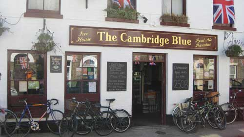 Picture 1. The Cambridge Blue, Cambridge, Cambridgeshire